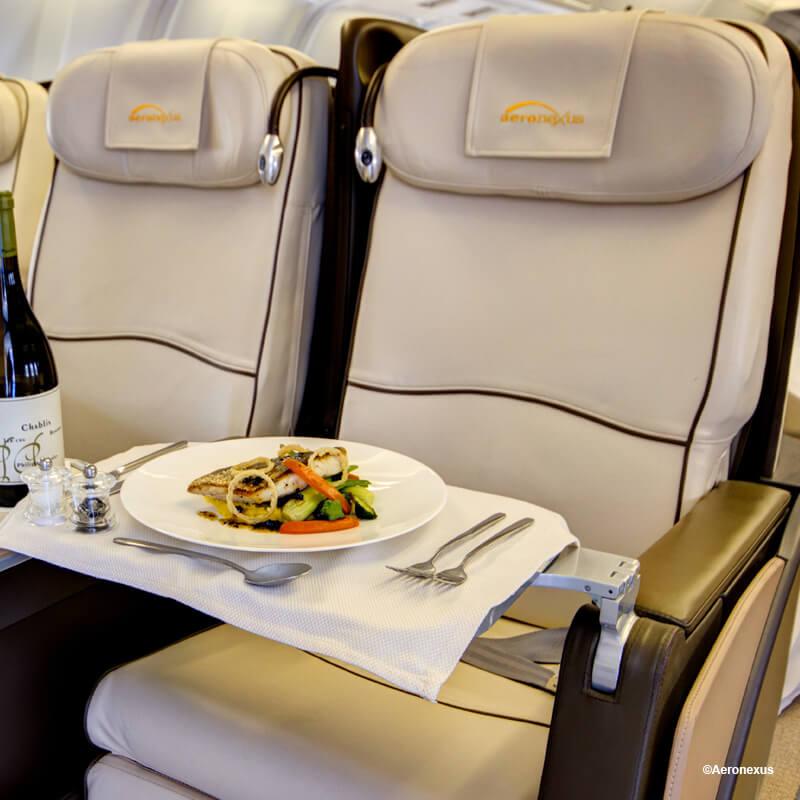 Luxury experience (Aeronexus VIP Boeing 767-300ER)