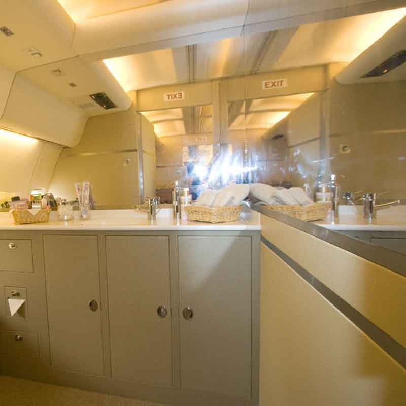 En-suite vanity area