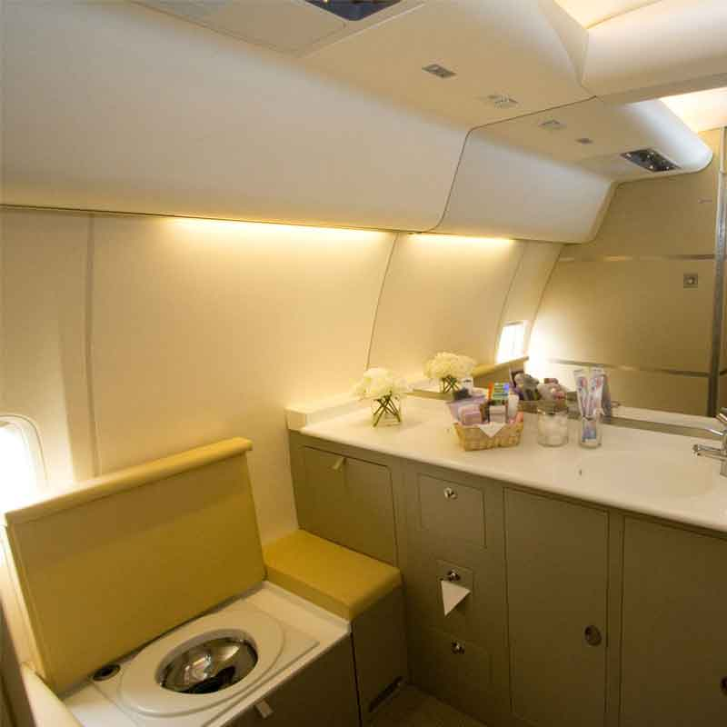 VIP private lavatory