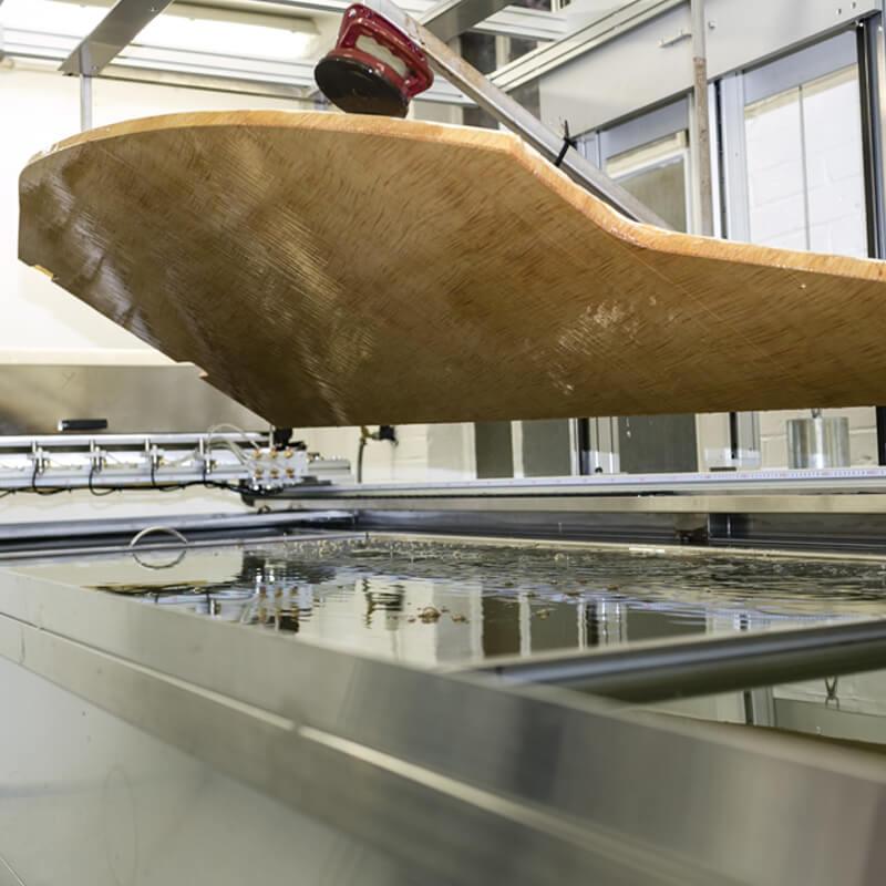 1.2 metre x 3.4 metre  dip film tank